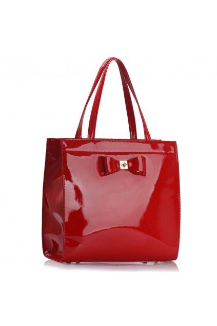 Trendová kabelka do ruky Lisa červená LS00383