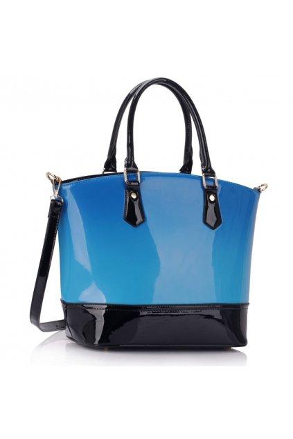 Trendová shopper kabelka do ruky Nabby modrá LS0039A