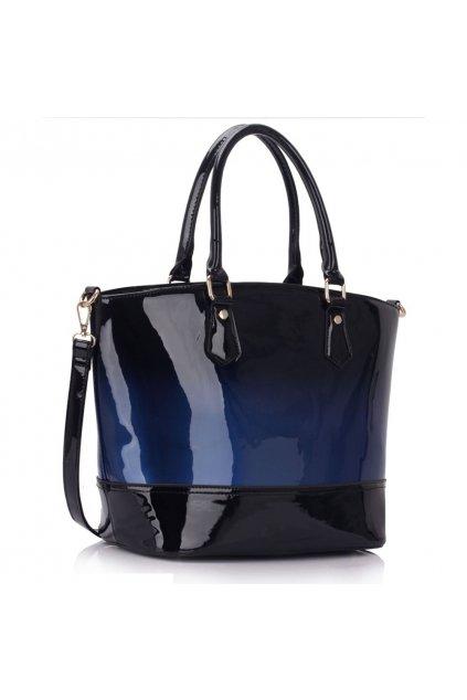 Trendová shopper kabelka do ruky Nabby námornícka LS0039A