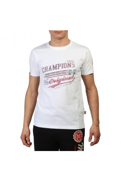 Pánske tričko Marshall Original biele (Veľkosť S,)