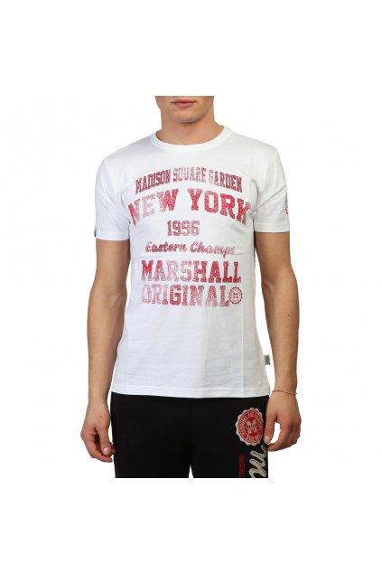 Pánske tričko Marshall Original biele (Veľkosť XL,)