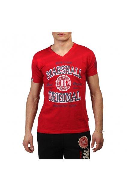 Pánske tričko Marshall Original červené (Veľkosť S,)