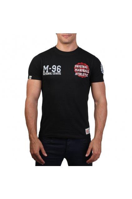 Pánske tričko Marshall Original čierne (Veľkosť L,)