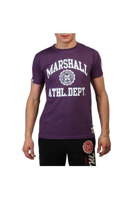 Pánske tričko Marshall Original fialové (Veľkosť S,)