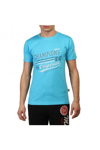 Pánske tričko Marshall Original modrá (Veľkosť XL,)