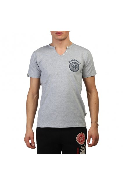Pánske tričko Marshall Original sivé (Veľkosť S,)