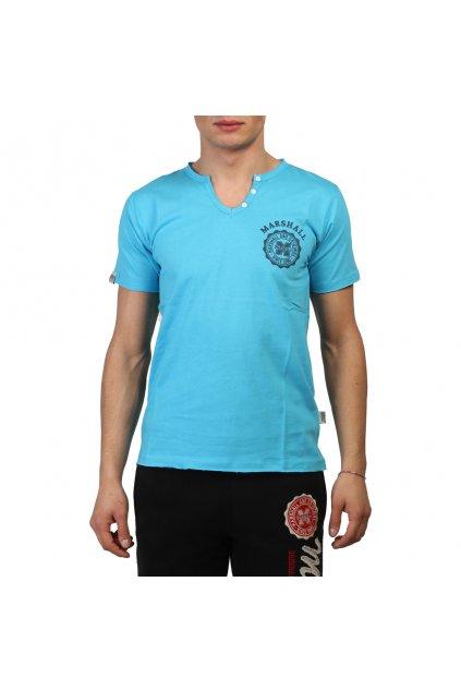 Pánske tričko Marshall Original tyrkysové (Veľkosť S,)