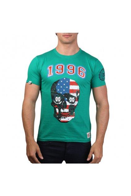 Pánske tričko Marshall Original zelené (Veľkosť S,)