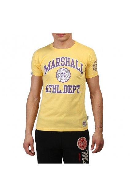 Pánske tričko Marshall Original žlté (Veľkosť XL,)