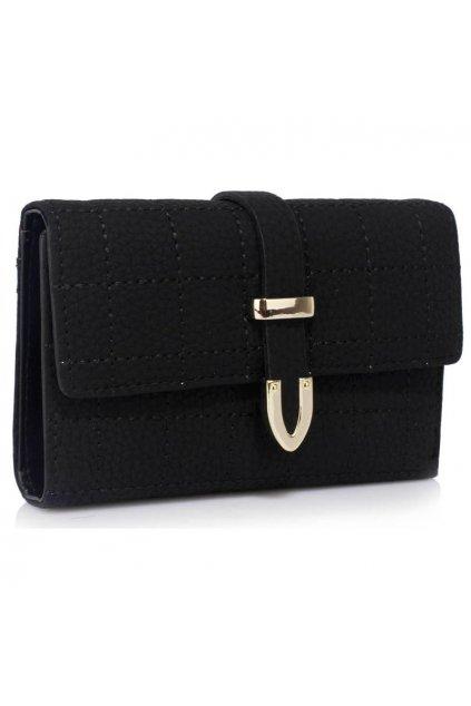 Peňaženka Dominica čierna LSP1075