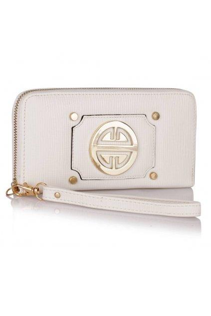 Peňaženka Emi biela LSP1051