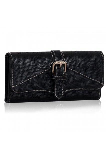 Peňaženka Evelyn čierna LSP1042