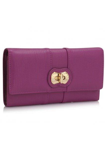 Peňaženka Lorna fialová LSP1055