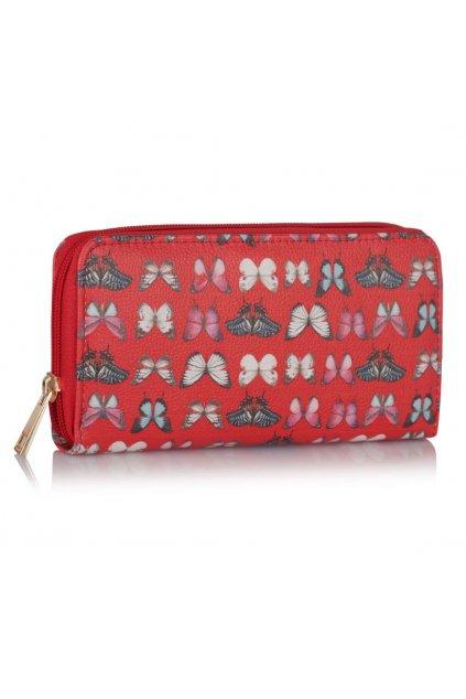 Peňaženka Lucy červená LSP1049