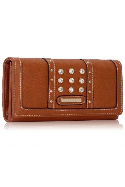 Peňaženka Lynne hnedá LSP1041