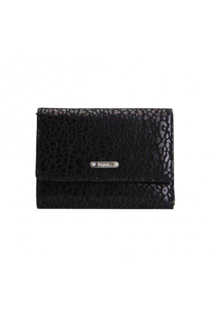 Peňaženka Segue 22408 čierna