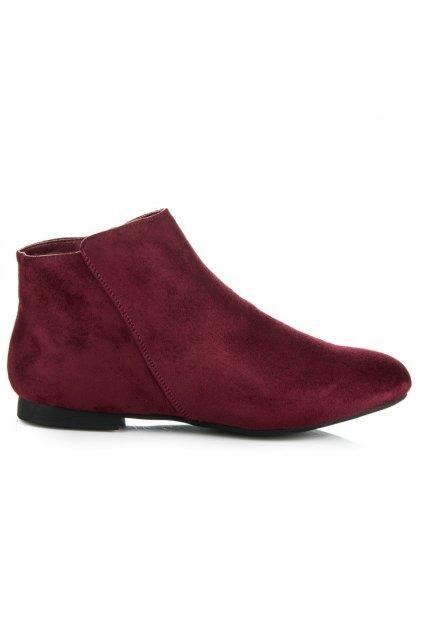 Semišové topánky 7-106wi veľ.č. 38 (Veľkosť 42)