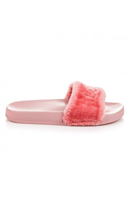 Ružové papuče LOVE S26-20P