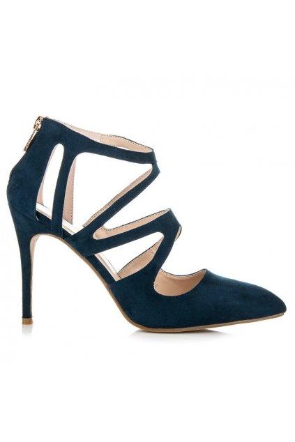 Modré sandále 558-51D.BL