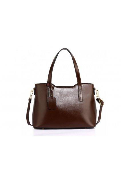 Hnedá trendy kabelka na rameno Nancie AG00528