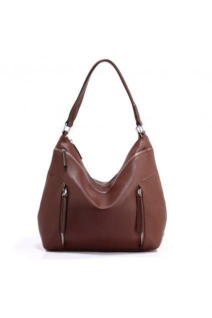 Trendy kabelka na rameno Emma káva AG00529