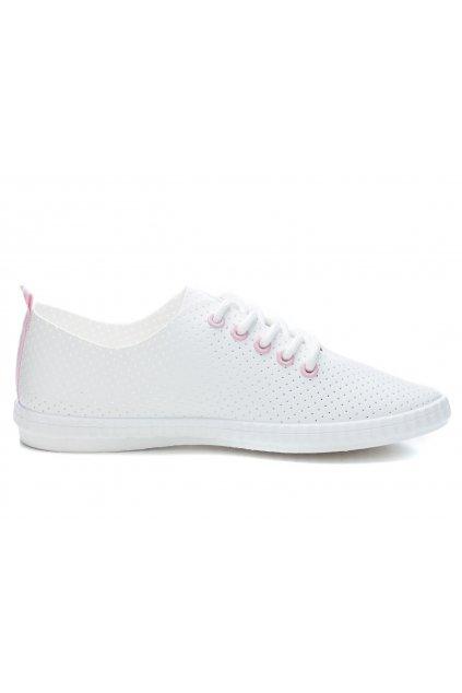 Biele tenisky K1771101ROSA