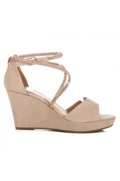 Béžové sandále Juliana LBS2806BE