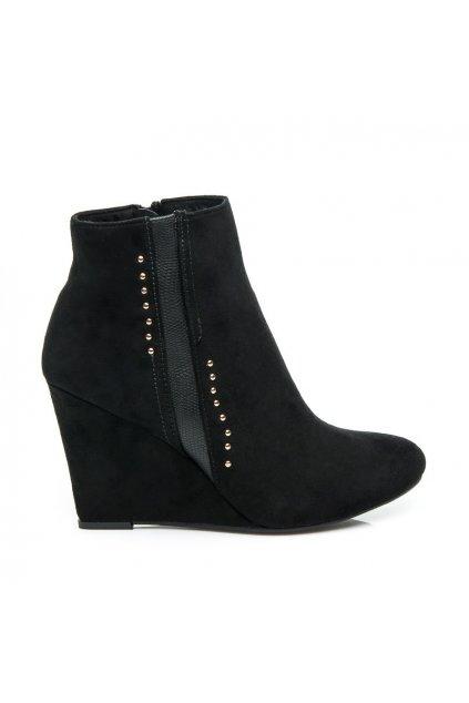 Semišové topánky na platforme (Veľkosť UK7 / EUR 40)