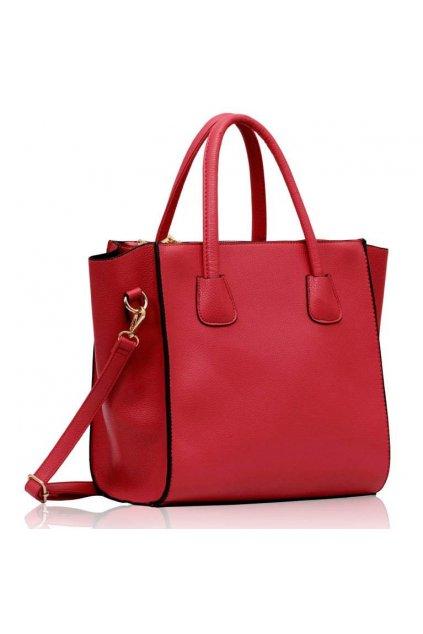 Ružová shopper kabelka Orrie B LS0061