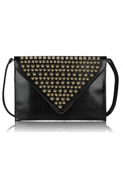 Čierna listová kabelka LSE00205