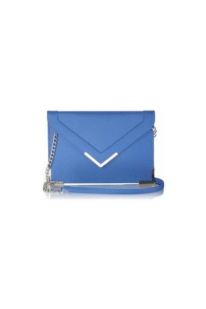 Modrá listová kabelka LSE00179