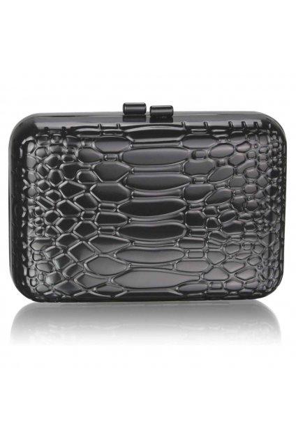 Čierna spoločenská kabelka LSE0038 clutch