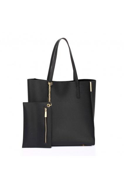 Čierna kabelka na rameno Abigail