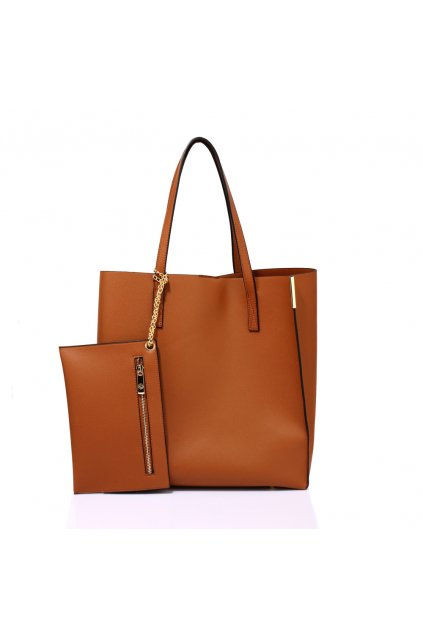 Hnedá kabelka na rameno Abigail