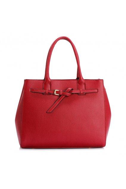 Bordová kabelka do ruky Adriana AG00447