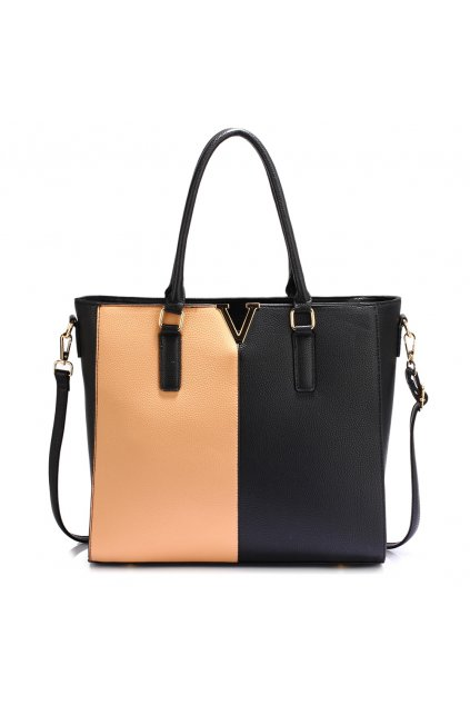 Čierno telová kabelka shopper Aggie AG00420