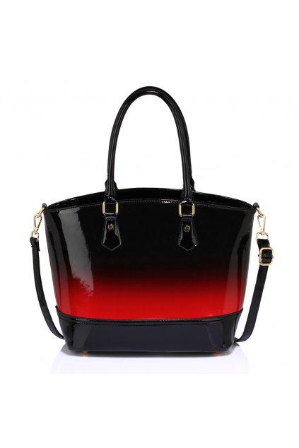 Červená kabelka shopper Della AG0039A