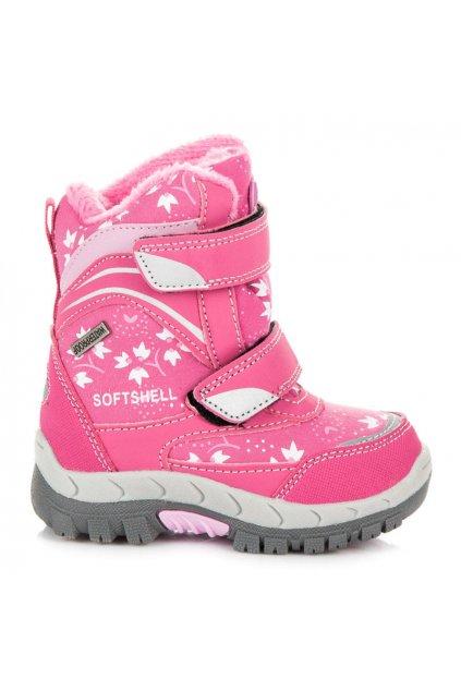 Ružové čižmy pre deti SBS1708F/F