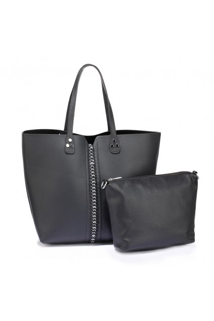 Čierna kabelka na rameno Netty