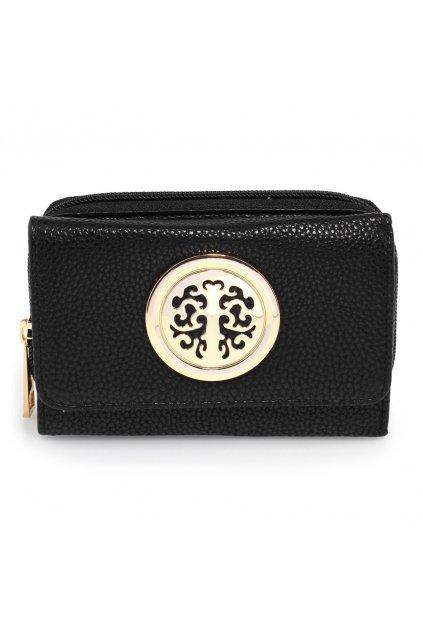 Čierna peňaženka Nina AGP1052A