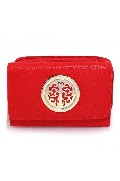Červená peňaženka Nina AGP1052A