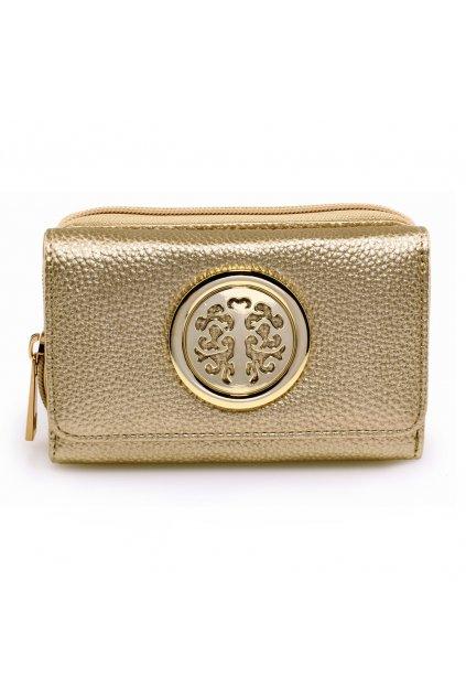 Zlatá peňaženka Nina AGP1052A
