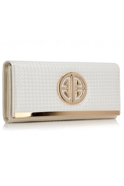 Biela peňaženka Barbara AGP1058A