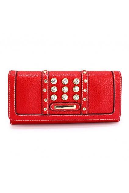 Červená peňaženka Carmen LSP1041A