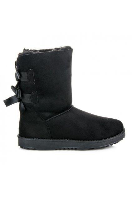 Čierne snehule Milada 407-4B