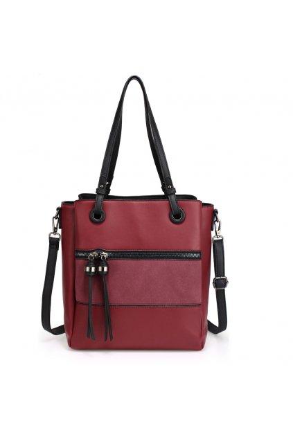 Bordová kabelka na rameno Sophie AG00553