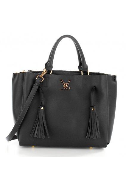 Čierna kabelka do ruky Olivia AG00551