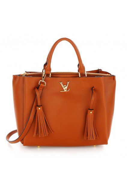 Hnedá kabelka do ruky Olivia AG00551