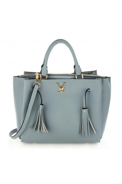 Modrá kabelka do ruky Olivia AG00551