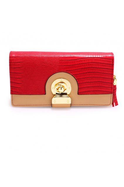 Telovo červená peňaženka Megan AGP1092B